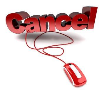 Online Cancellation