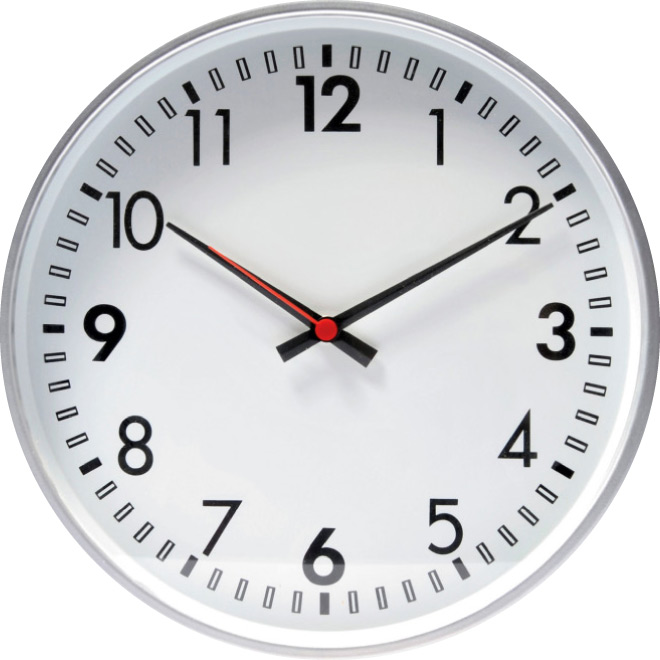 Round Shape Clock