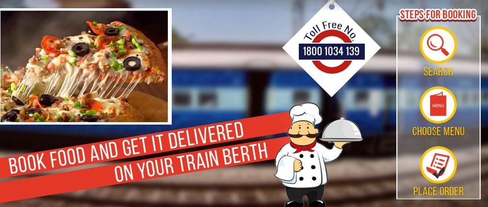 Pizza Delivery At Train Berth