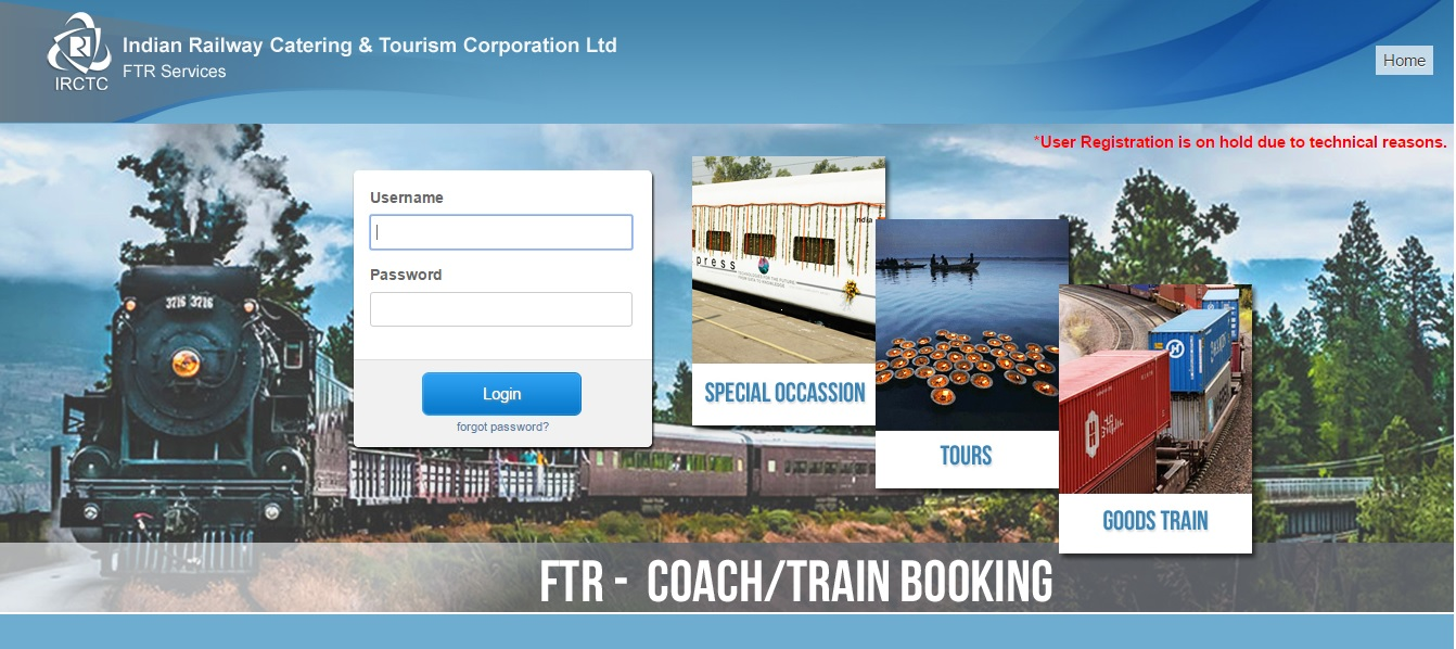 Train Coach Booking