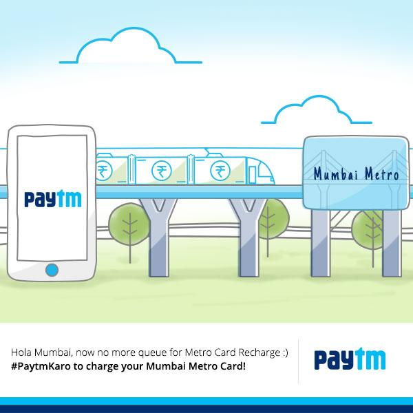 Paytm mumbai Metro ticket Offer